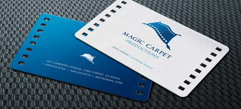 rounded business cards