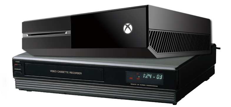 considering how bad xbox one vcr was ps4 is an easy win news