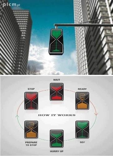hourglass-traffic-signal
