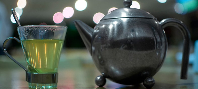 matcha green tea pot
