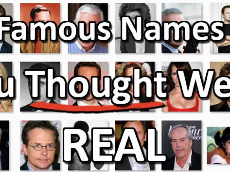 Famous Names